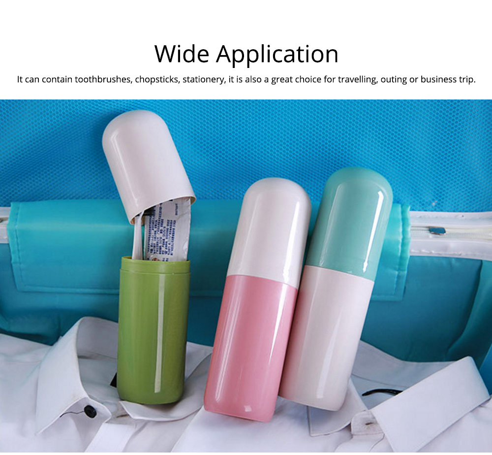 Toothbrush Holder Toothpaste Case Travel Containers Organizer Protect Storage Box for Travel Camping Outdoors 6