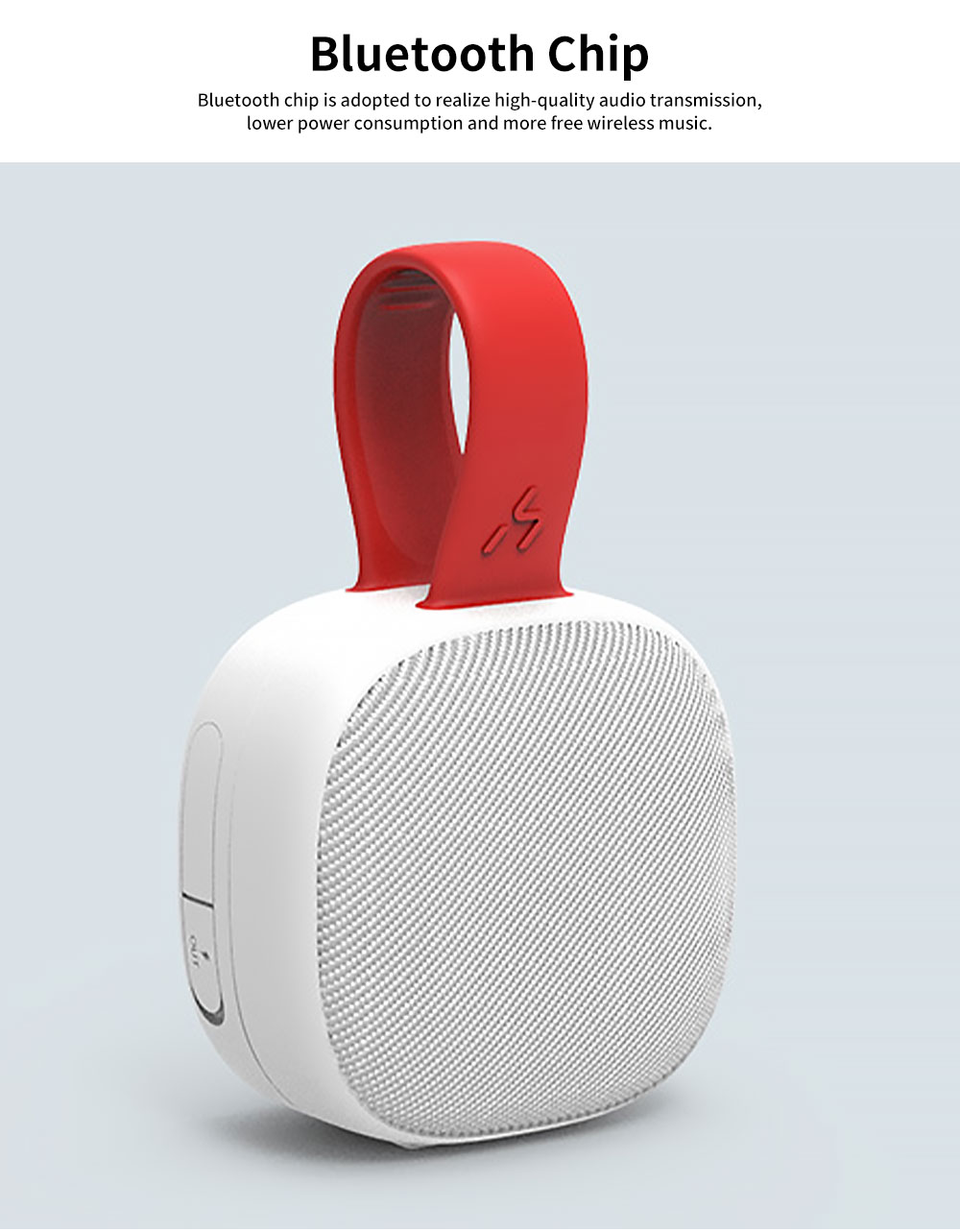 Bluetooth Speakers ABS TPU Material Shoelace Shape Acoustics Waterproof Fall-resistance Sound Rechargeable Portable Loudspeaker Box 1