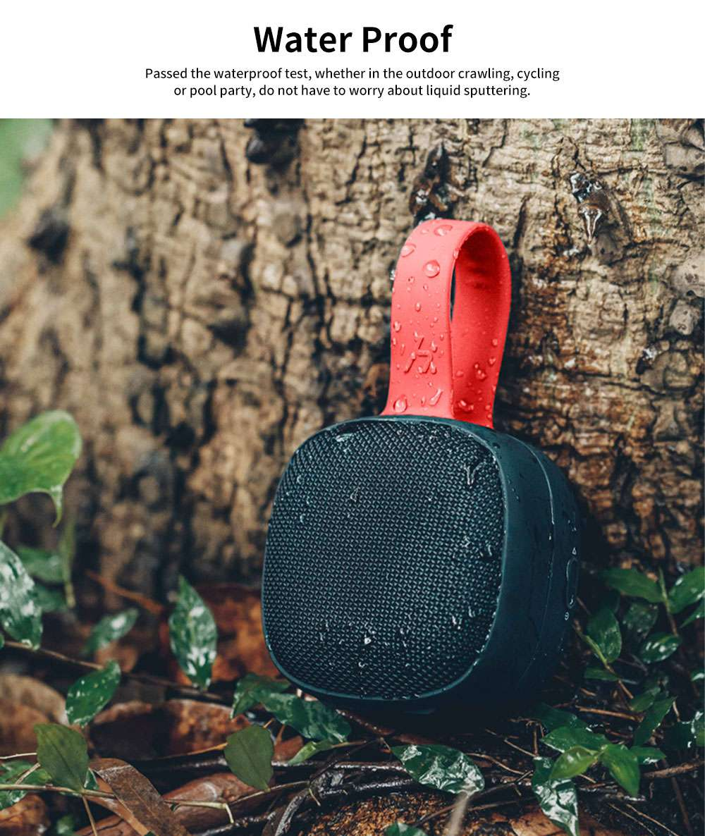 Bluetooth Speakers ABS TPU Material Shoelace Shape Acoustics Waterproof Fall-resistance Sound Rechargeable 	Portable Loudspeaker Box 3