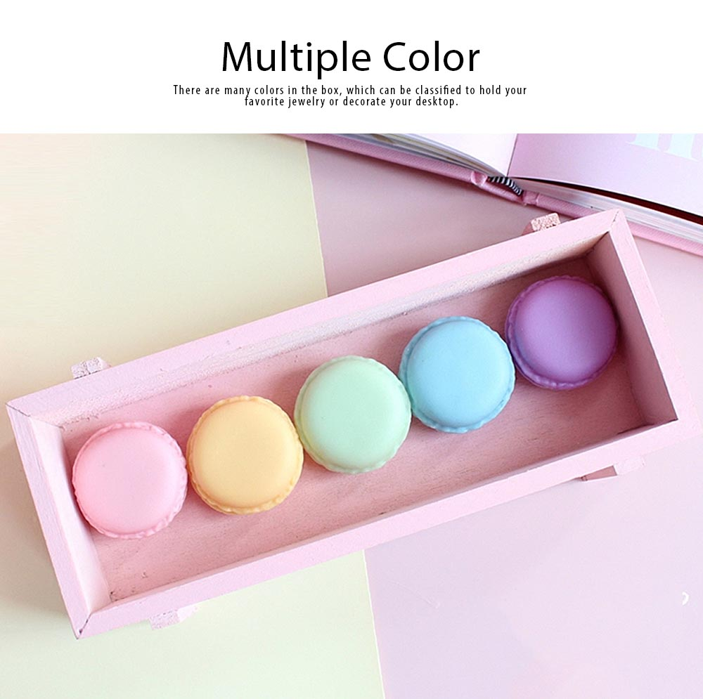 Macaron Medicine Box PP Portable Candy Color Pill Jewelry Organizer Creativity Cute Outdoor Pill Box Tablets Container 5