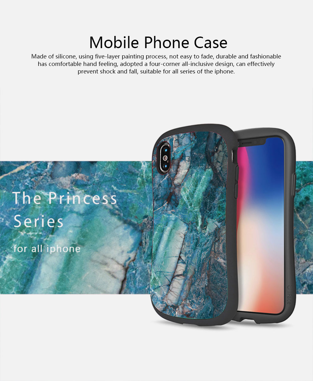 Creativity Silicone All-inclusive Fall Prevention Sling Mobile Phone Shell for iPhone 8 Plus & 7P & 6S 0