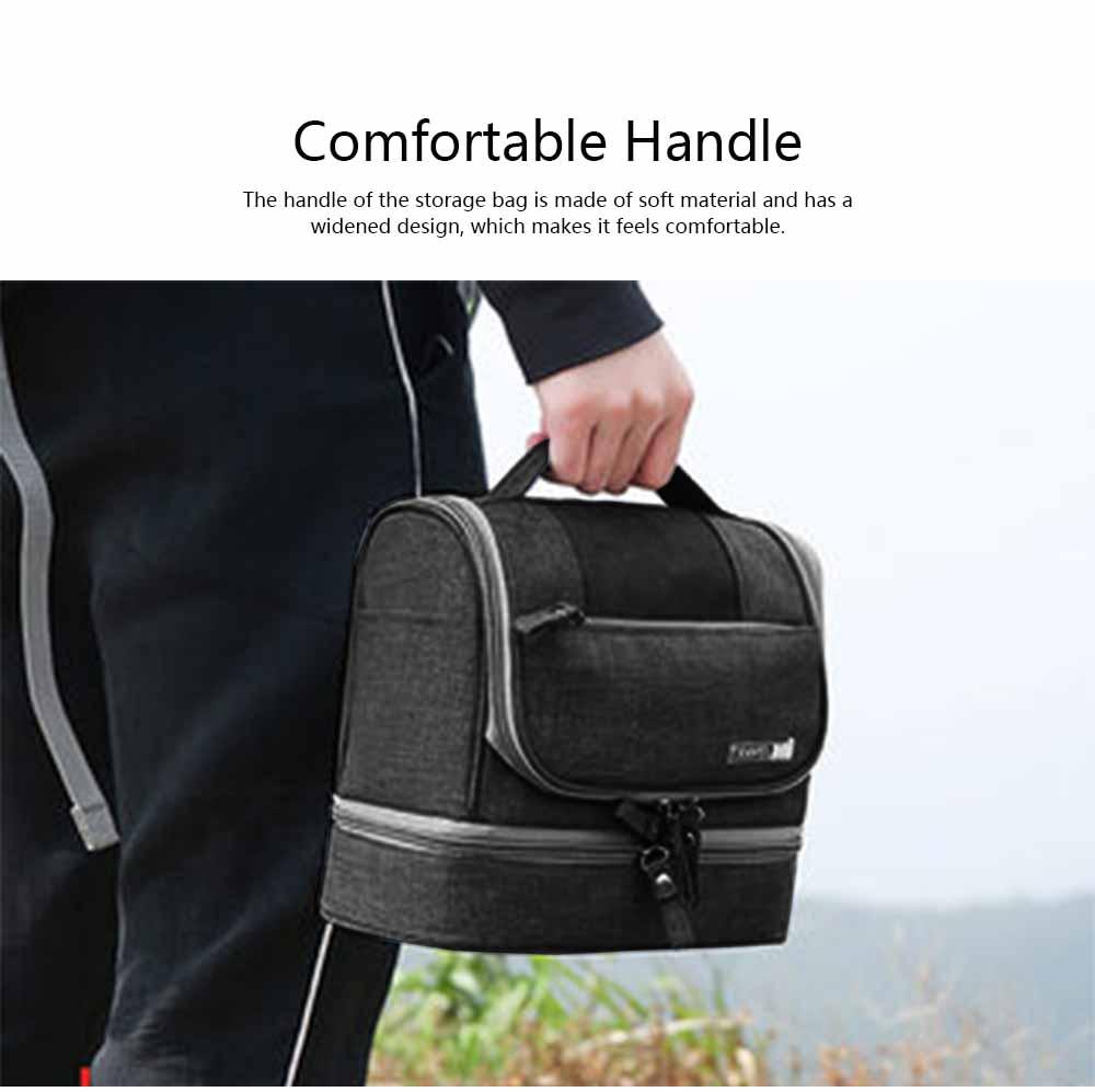 Storage Bag Dry Wet Depart Wash Bag Large Capacity Portable Waterproof Cosmetic Bag for Travel Business Trip 5