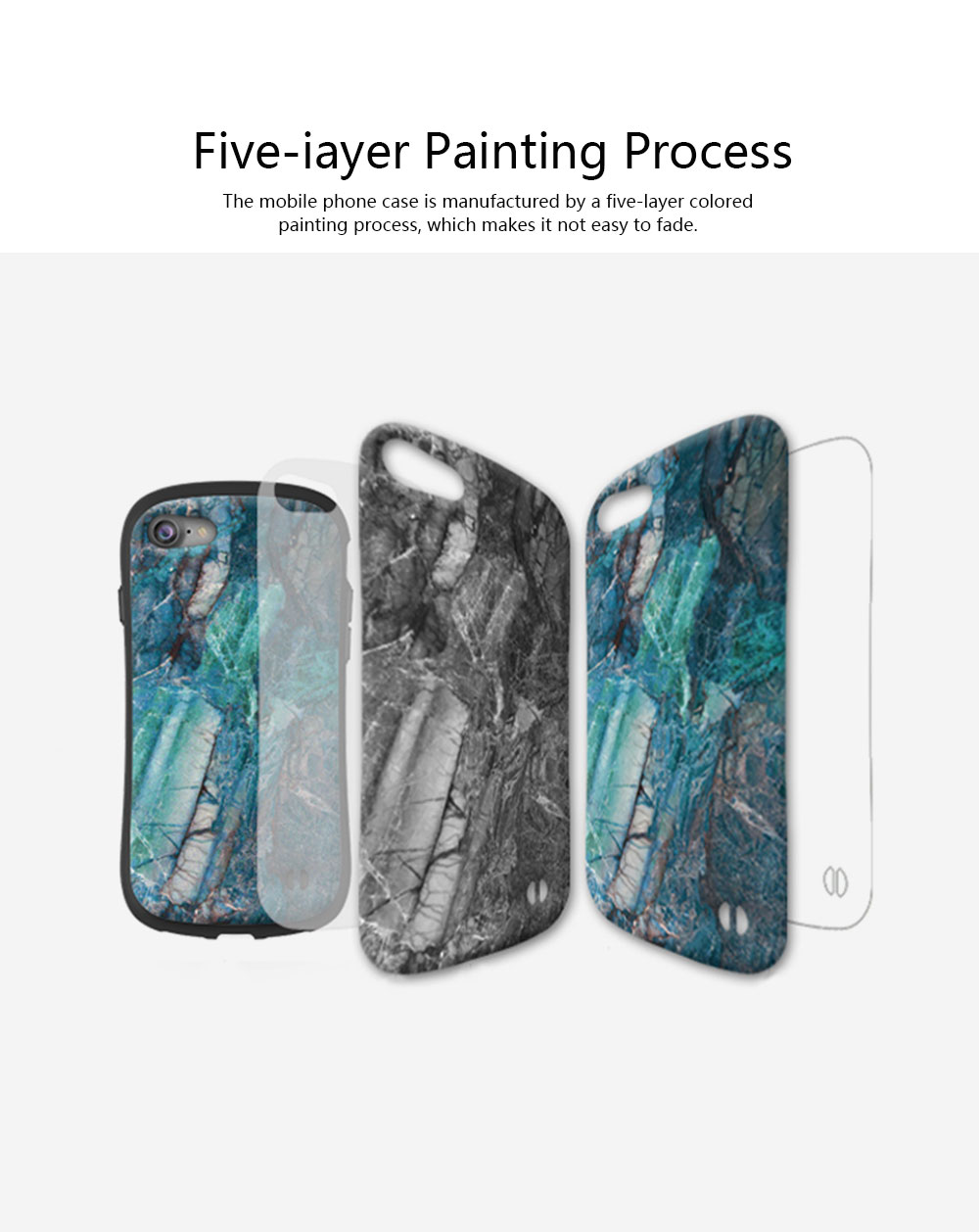 Creativity Silicone All-inclusive Fall Prevention Sling Mobile Phone Shell for iPhone 8 Plus & 7P & 6S 3