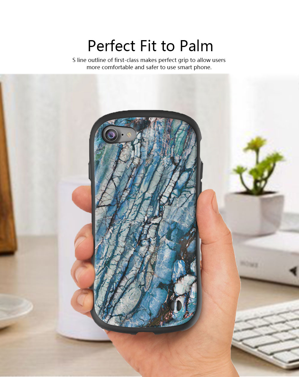 Creativity Silicone All-inclusive Fall Prevention Sling Mobile Phone Shell for iPhone 8 Plus & 7P & 6S 4