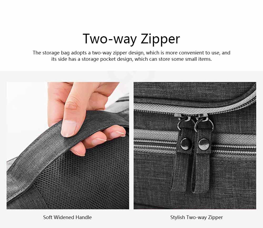 Storage Bag Dry Wet Depart Wash Bag Large Capacity Portable Waterproof Cosmetic Bag for Travel Business Trip 4