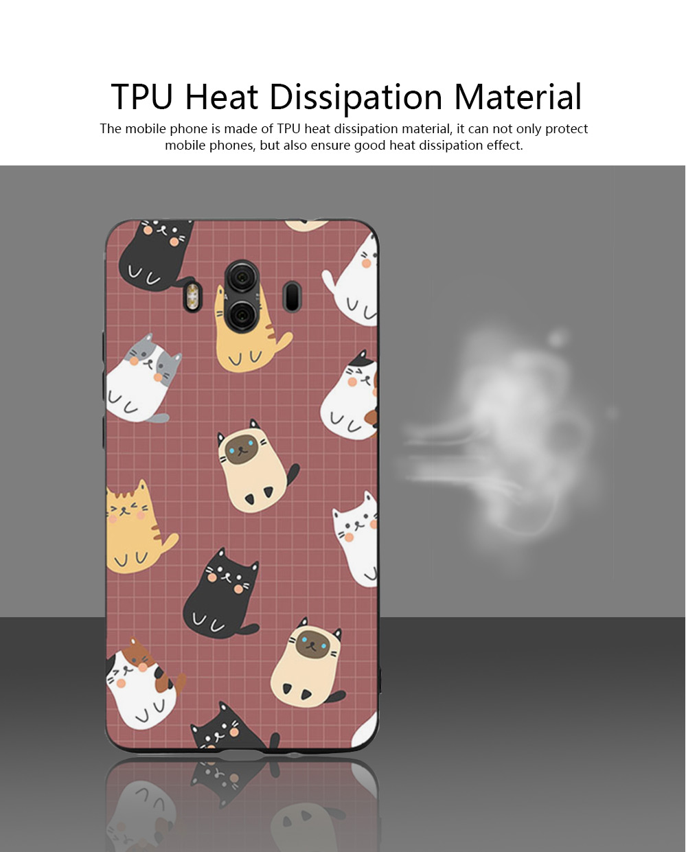 Cameo Brown Silicone Soft Shell for HUAWEI Mate 9 Pro, 10, 20 Pro, 20x All-inclusive Protection Fall Prevention Mobile Phone Case 1