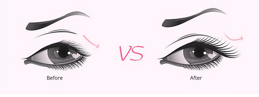 Eyelash Curler with Comb for Beauty Makeup Stainless Steel Eyelash Curler Eyebrow Trimmer Eyebrow Tweezer Beauty Makeup Tools 6