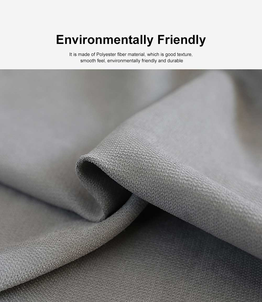 5 Color Nordic Style Curtain, Solid Color Curtains for Living Room Bedroom, Modern Minimalist Blackout Curtain 2