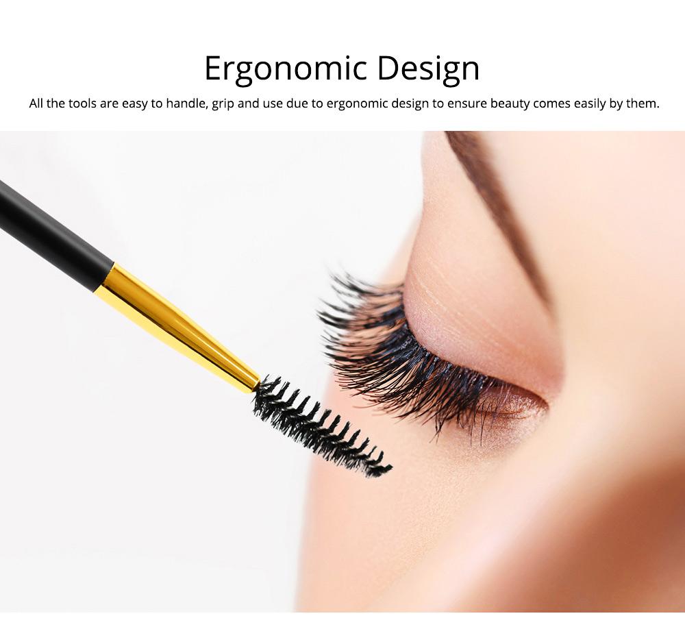 Eyebrow Trimming Set for Both Lady and Gentleman Eyebrow Pencil Eyebrow Tweezer Complete 5-piece Set for Beauty Makeup Tools Beginner Eyebrow Trimmer 3