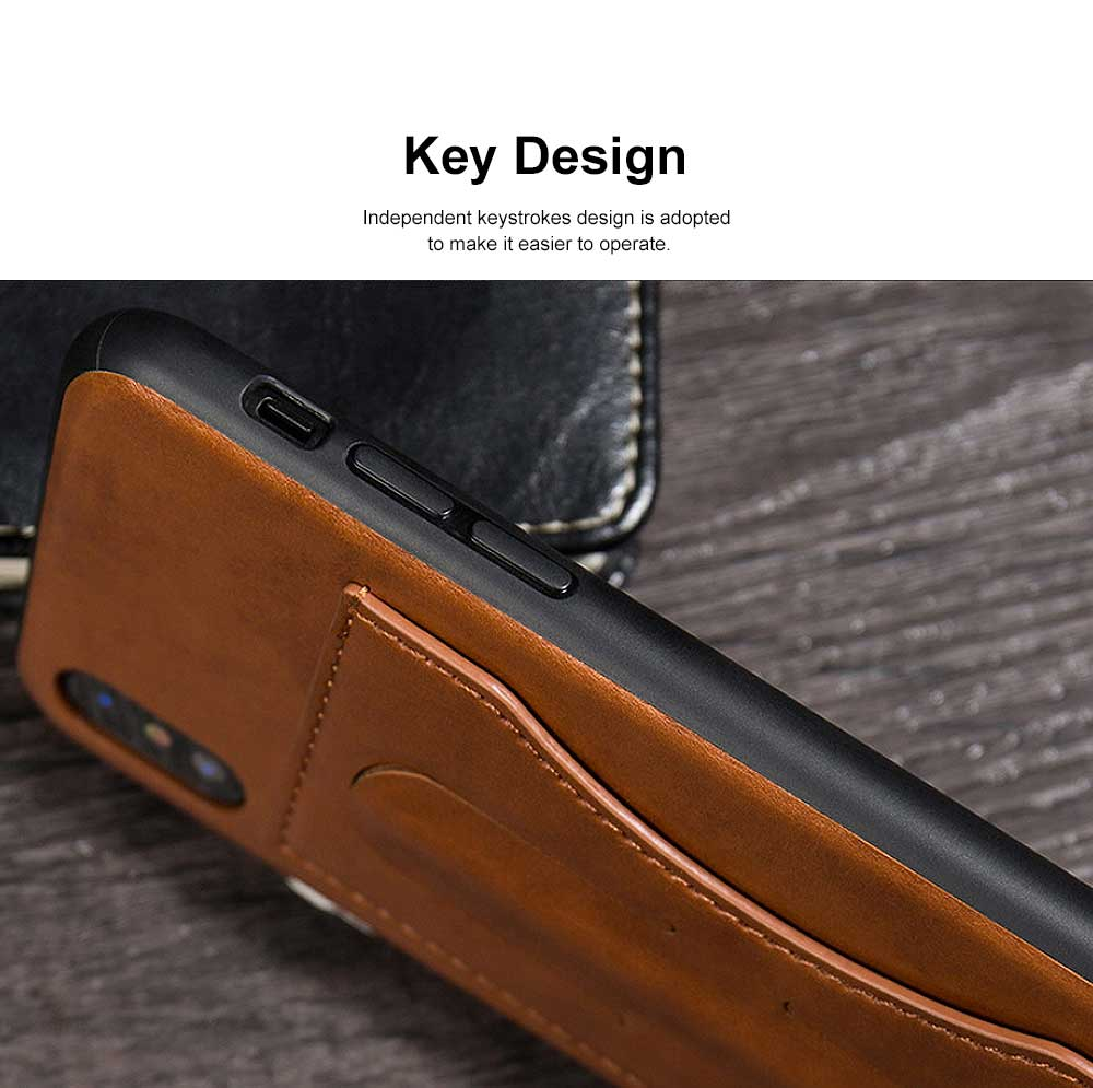 Luxury Soft Leather Phone Case, Minimalist High-end Business Phone Case for iPhone, Samsung, Huawei, Vivo, Oppo 5