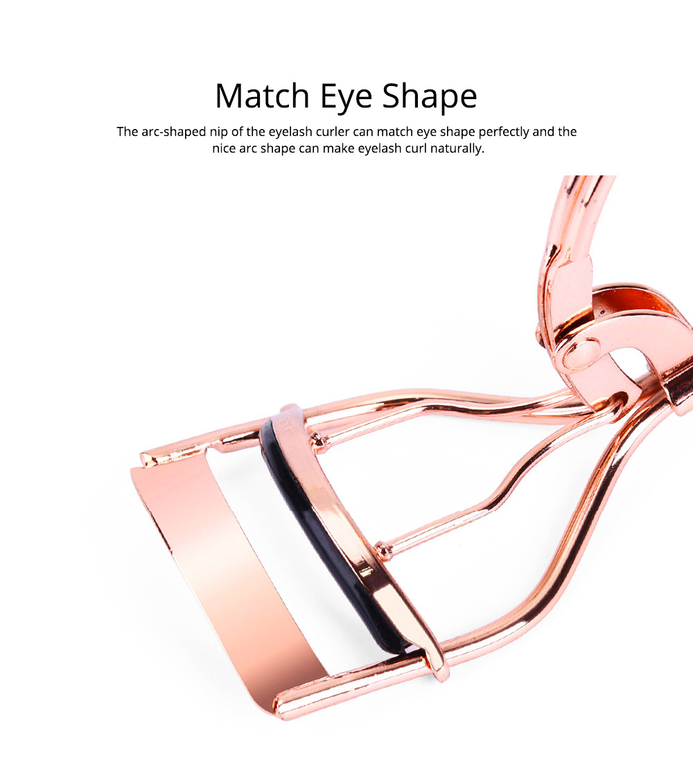 Eyelash Curler for Beauty Makeup Carbon Steel Eyelash Curler Makeup Tools Prompt Goods Curler of Eyelash Assisted Beauty Makeup Tools 3