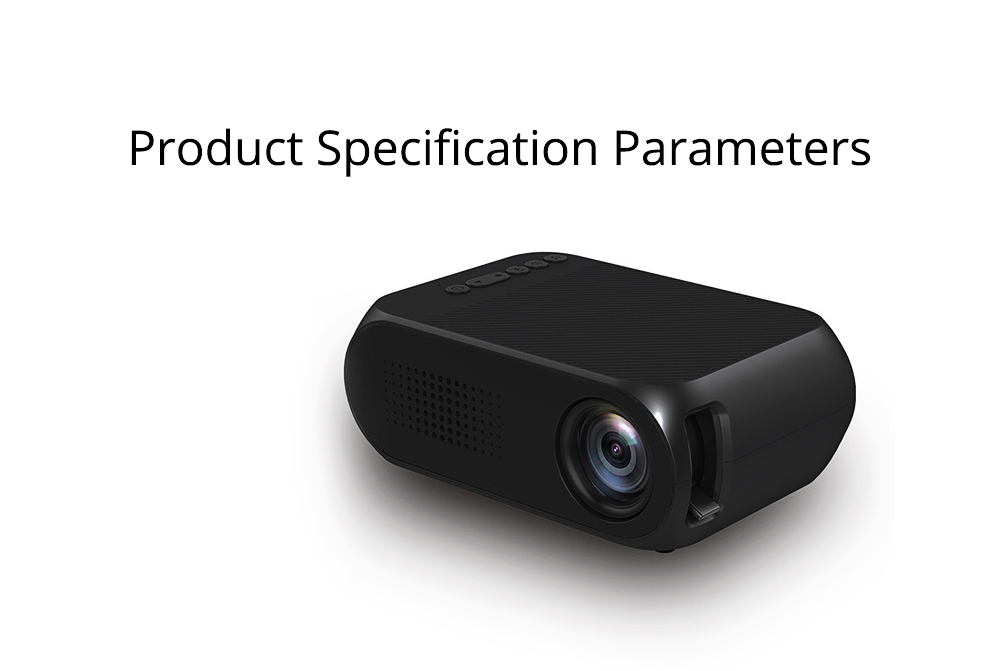 New Style High Quality Projectors YG320 Mini-sized Portable Projection Machine for Home Using 1080P Supporting for OEM Custom Home Theater 12