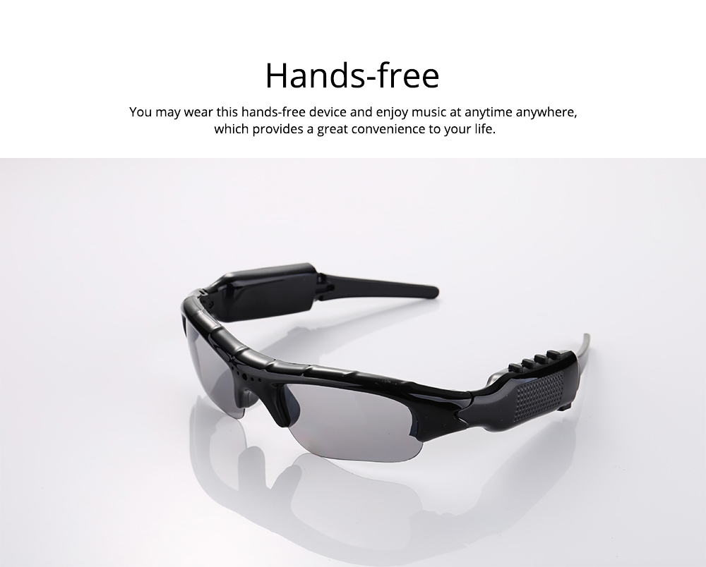 Wireless Headphones Bluetooth 4.1 Version Smart Glasses for Outdoor Activities High Quality Sunglasses for Music and Photo Shooting 4