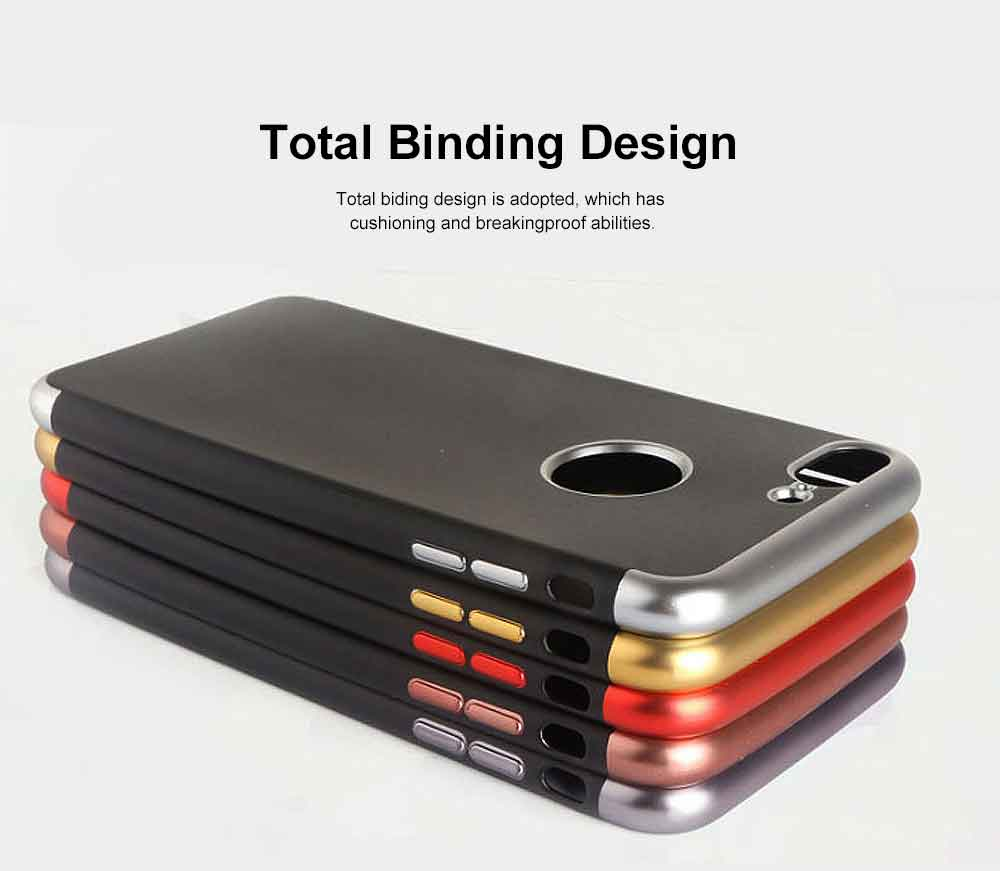 Electroplated Phone Case, Three-part Total Cladding Case Cover, Minimalist Soft TPU Phone Case for iPhone, Samsung 1