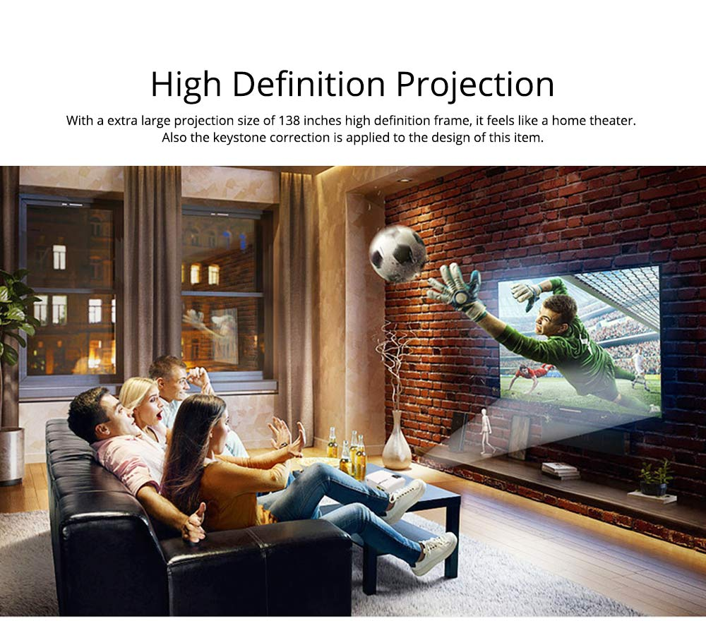 Latest High Quality Projectors YG500 Mini-sized Portable LED Projection Machine Home Theater for Home Using & Outdoor Entertaining 1080P 1