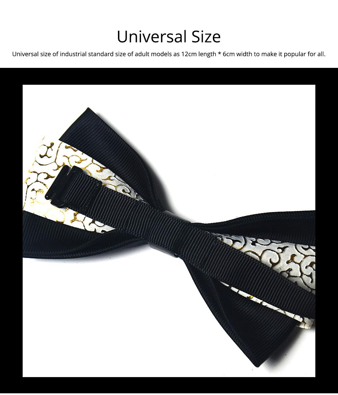 Bow Tie of PU Leather for Wedding Business Suit Bow Tie Fashionable British Style Elviro Tie Bridegroom Groomsman Used Bow Tie 7