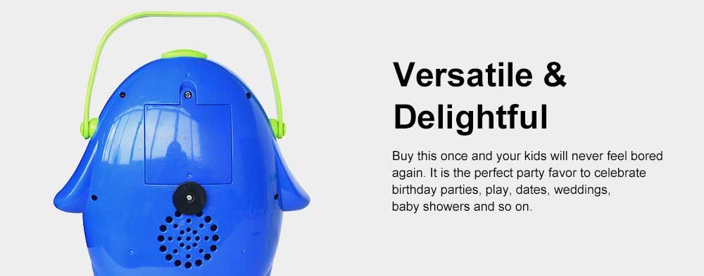 Cartoon Penguin Bubble Machine Children's TikTok Same Paragraph Blowing Bubble Toy( Send 2 Bottles Size) 5
