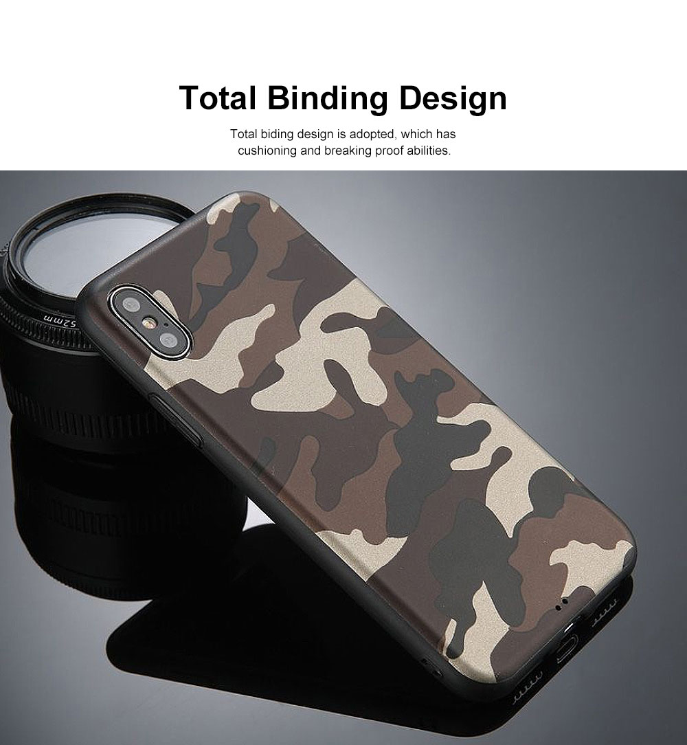 Camouflage Phone Case, Leopard Print Case Cover, Smooth TPU Phone Case, Luxury Ultra Thin Case Cover for iPhone 4