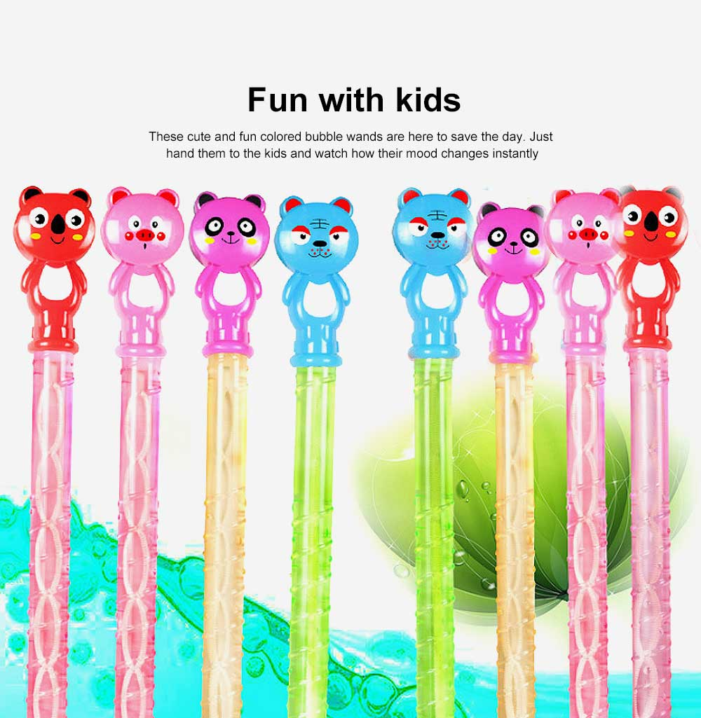 Cartoon Large Bubble Stick Concentrated Version of A Variety of Optional Blowing Bubble Toys 4