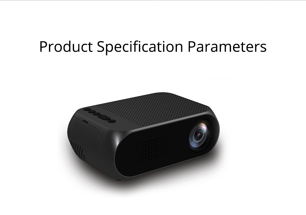 Domestic New Style Home Theater YG320 Mini-sized Portable Projection Machine for Home Using 1080P Supporting for OEM Custom 7