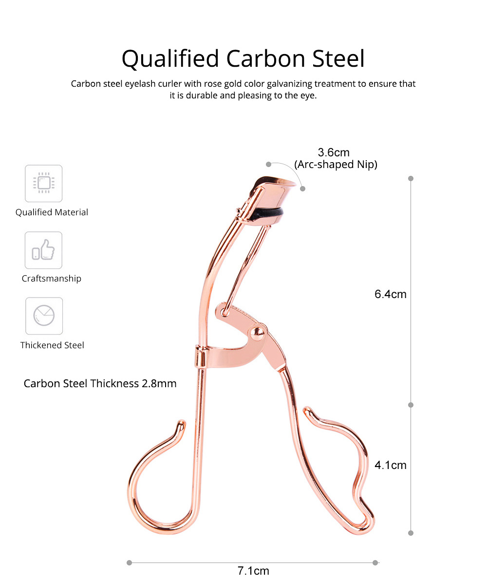Eyelash Curler for Beauty Makeup Carbon Steel Eyelash Curler Makeup Tools Prompt Goods Curler of Eyelash Assisted Beauty Makeup Tools 2