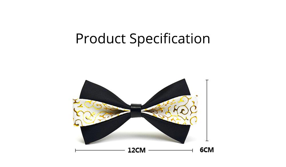 Bow Tie of PU Leather for Wedding Business Suit Bow Tie Fashionable British Style Elviro Tie Bridegroom Groomsman Used Bow Tie 8