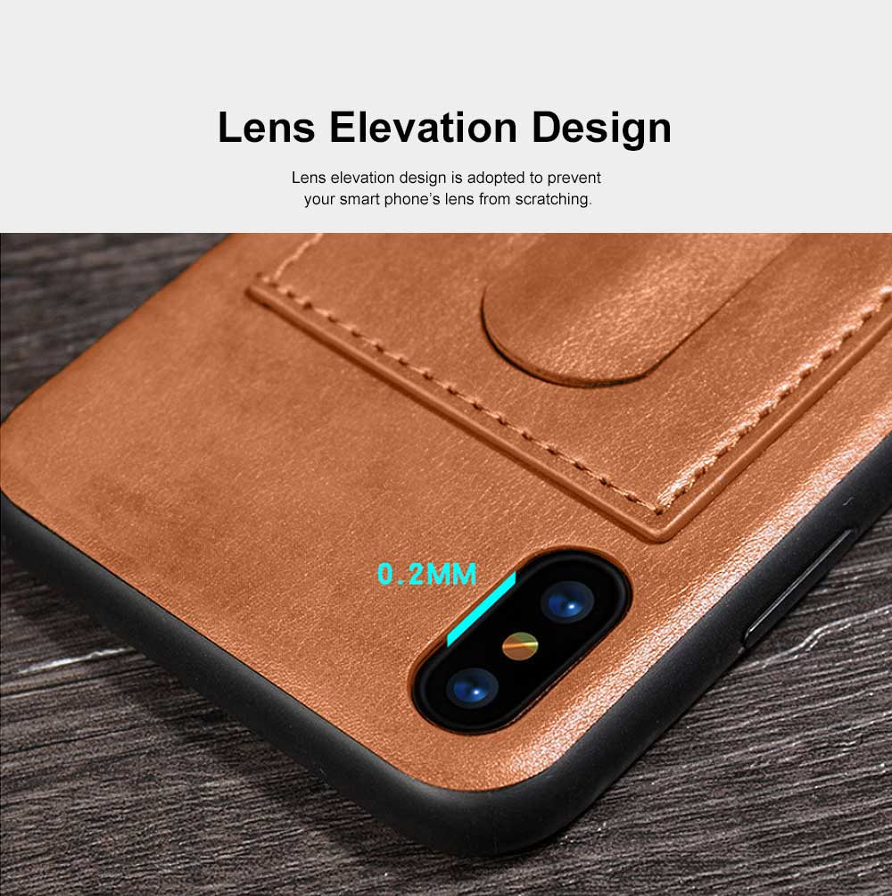 Luxury Soft Leather Phone Case, Minimalist High-end Business Phone Case for iPhone, Samsung, Huawei, Vivo, Oppo 2