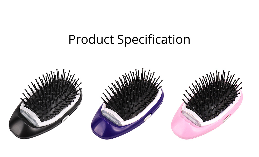Anion Antistatic Comb for Straight and Curled Hair Combing Portable Message Comb Antistatic Comb Shaking Comb Hairdressing Tools 8