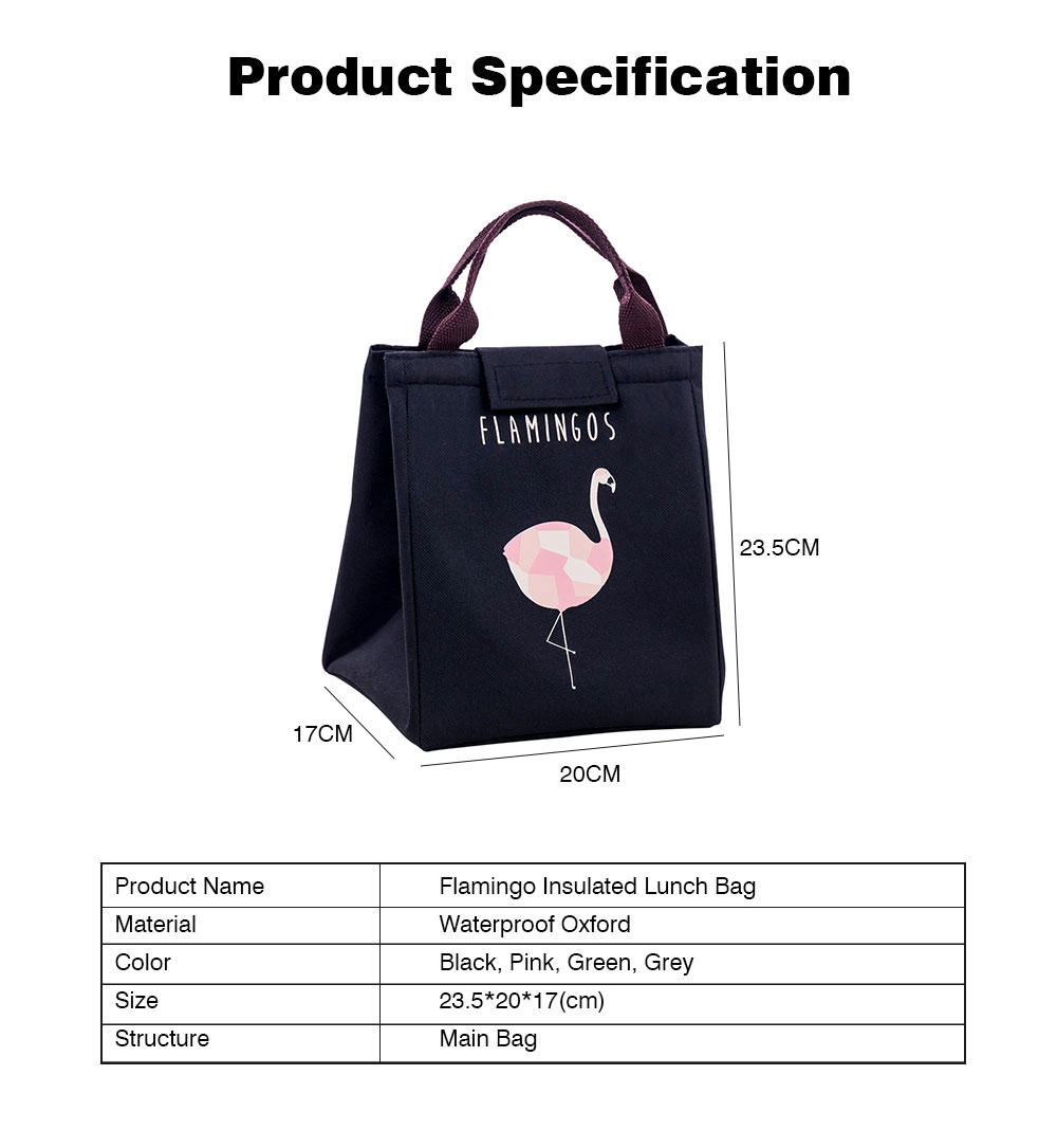 Reusable and Portable Lunch Tote Bag, Leakproof Lunch Tote for Adults and Children, Thickened Insulated Lunch Bag for Outdoor, Picnic 9