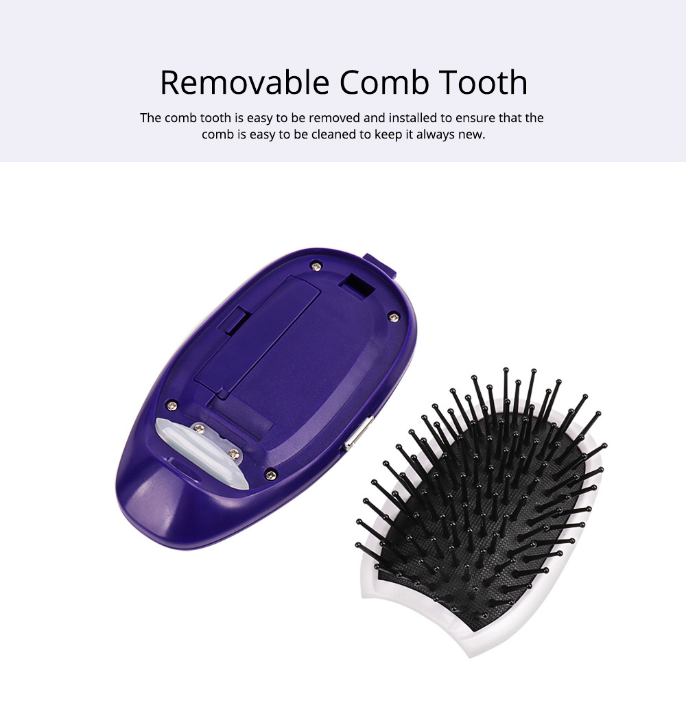 Anion Antistatic Comb for Straight and Curled Hair Combing Portable Message Comb Antistatic Comb Shaking Comb Hairdressing Tools 4