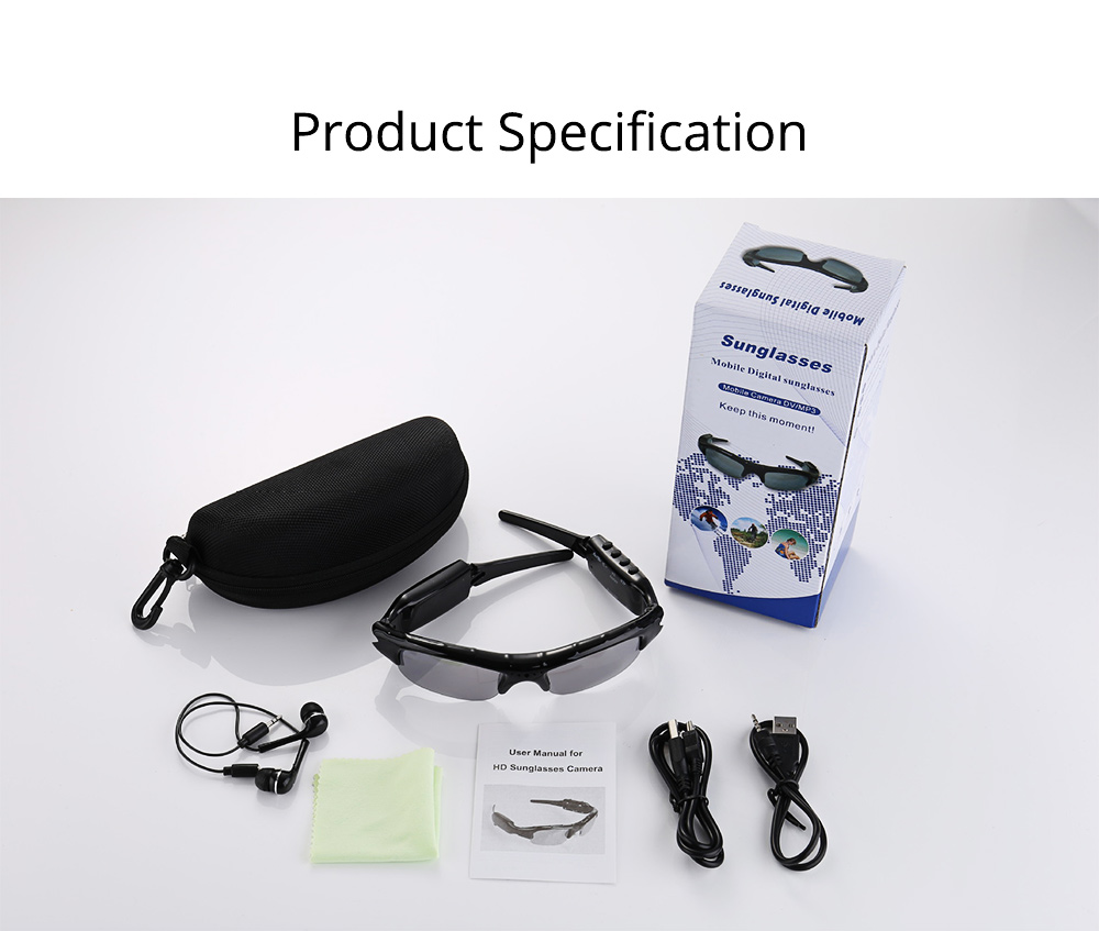 Wireless Headphones Bluetooth 4.1 Version Smart Glasses for Outdoor Activities High Quality Sunglasses for Music and Photo Shooting 8