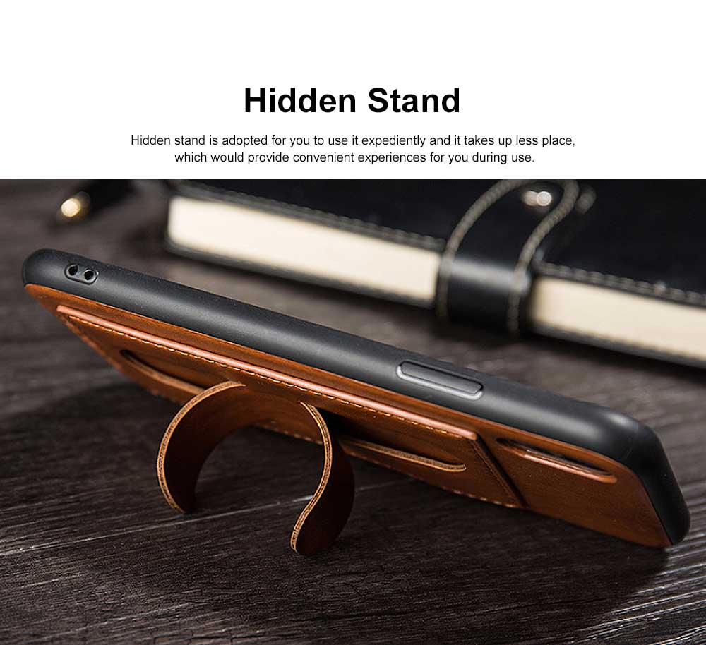Luxury Soft Leather Phone Case, Minimalist High-end Business Phone Case for iPhone, Samsung, Huawei, Vivo, Oppo 1