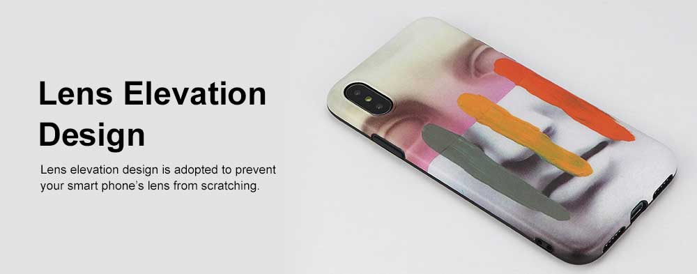 Mocked Statue of David Phone Case, Luxury Thin Soft TPU Case Cover, Stylish Breaking Proof Phone Case for iPhone 5