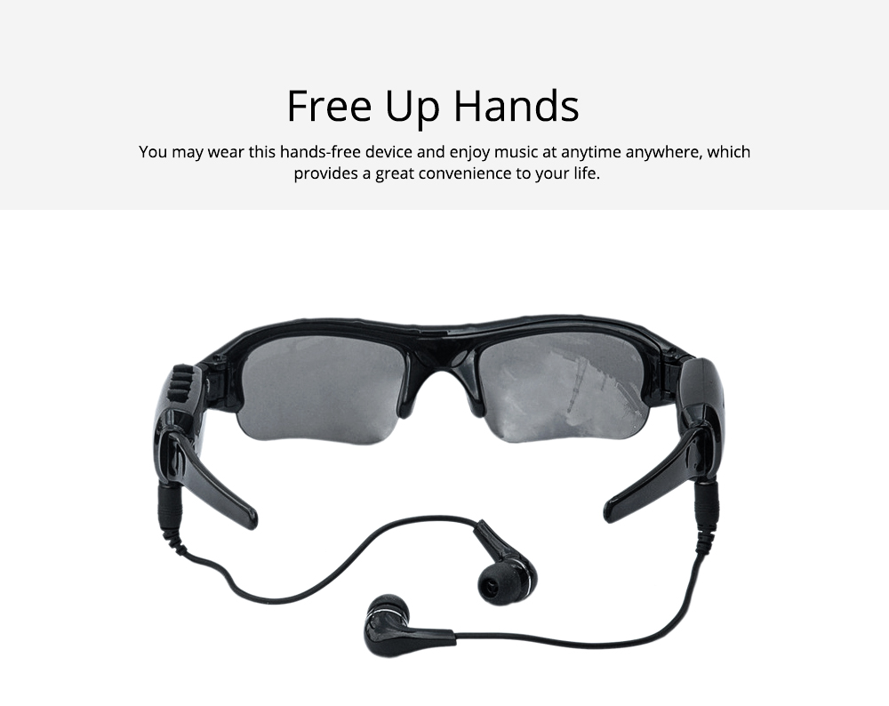 High Quality Wireless Bluetooth Sunglasses Sports Riding Glasses Headset Smart Glasses for Music and Camera Shooting 3