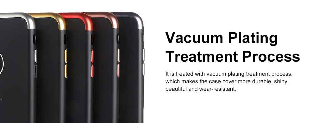 Electroplated Phone Case, Three-part Total Cladding Case Cover, Minimalist Soft TPU Phone Case for iPhone, Samsung 2