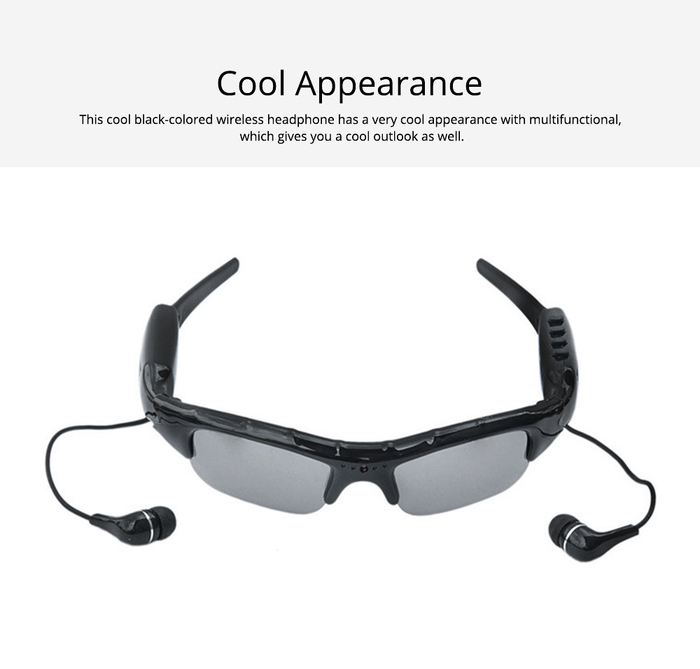High Quality Wireless Bluetooth Sunglasses Sports Riding Glasses Headset Smart Glasses for Music and Camera Shooting 5