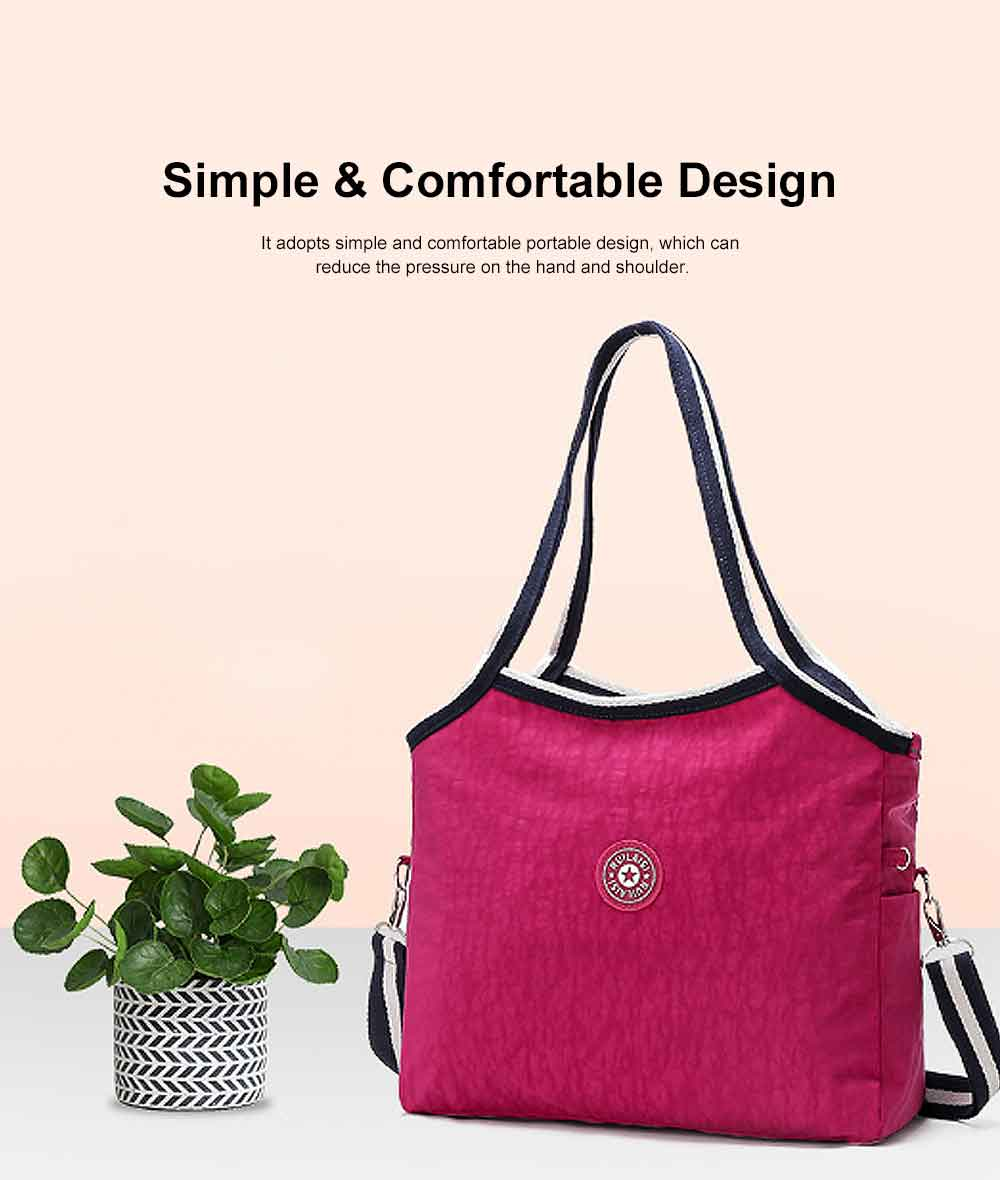 Selected Nylon Washed Fabric Shoulder Bag, Waterproof Diagonal Bag for Female 2019 3