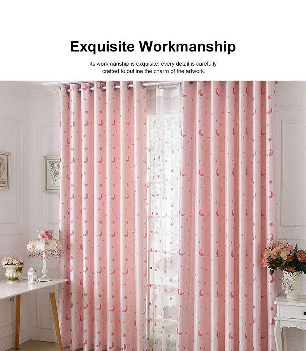 Jacquard Blackout Curtains, Practical Curtains for Bedroom, Living Room, Xingyue Cationic Fabric Curtains 3
