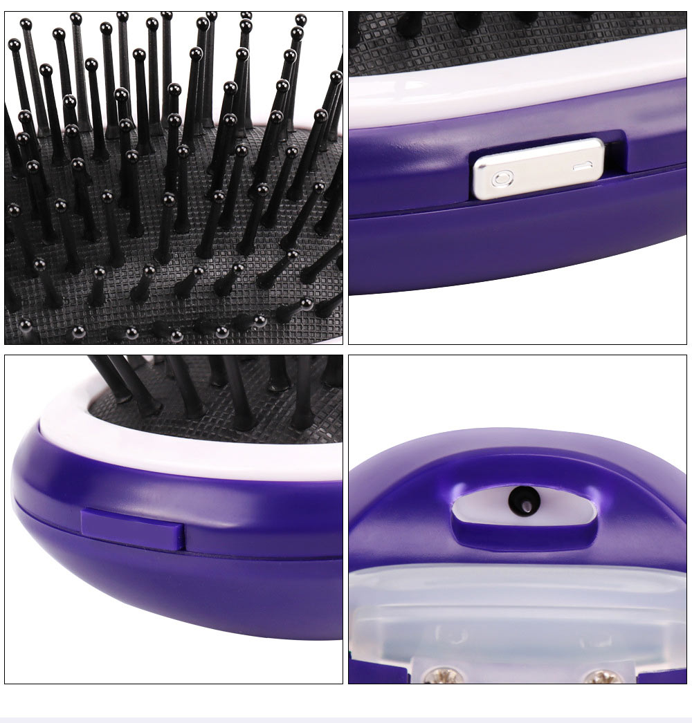 Anion Antistatic Comb for Straight and Curled Hair Combing Portable Message Comb Antistatic Comb Shaking Comb Hairdressing Tools 2