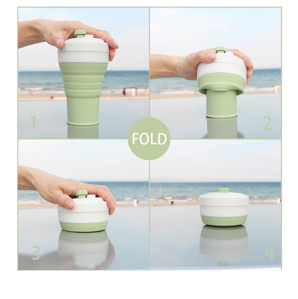 Collapsible Water Bottle Ideal for Outdoor Activities, Silicone Leakproof Water Bottle for Travel 11