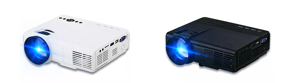 New Style High-definition Projectors Q5 Mini-sized Portable LED Projection Machine for Home Using 1080P Home Theater 2