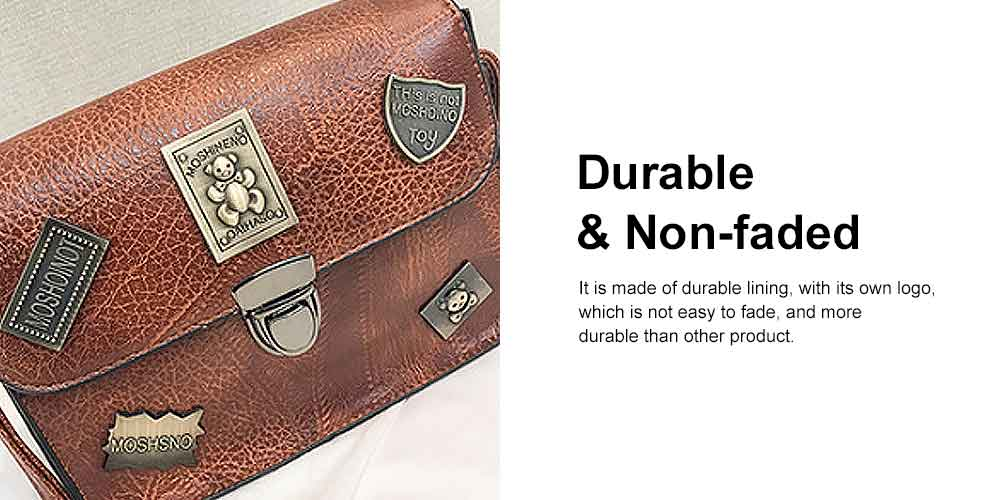 PU Retro Shoulder Bag, Ladies diagonal Bag, with Good Quality Lining, Shopping, Work, Dating Essential 2