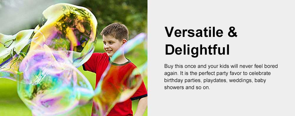 Children's Colorful Bubble Water Western Sword Bubble Stick Outdoor Beach Blow Bubble Toy 15 inch 5