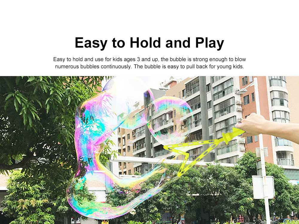 Children's Colorful Bubble Water Western Sword Bubble Stick Outdoor Beach Blow Bubble Toy 15 inch 3