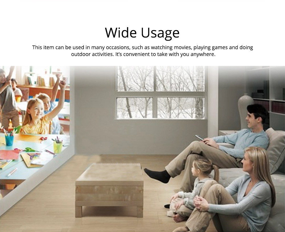 New Style High-definition Projectors Q5 Mini-sized Portable LED Projection Machine for Home Using 1080P Home Theater 3