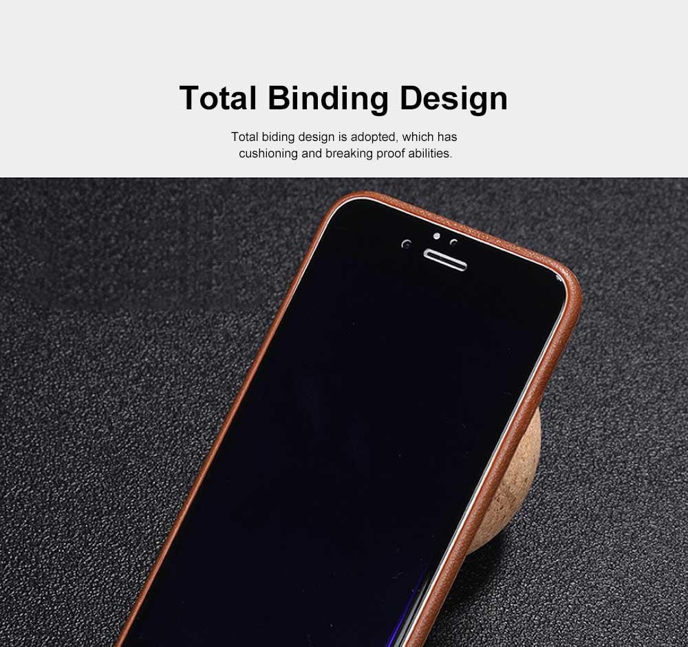 Imitation Leather TPU Phone Case, Soft Case Cover with Multifunctional Stand, Total Binding Business Phone Case for iPhone 2