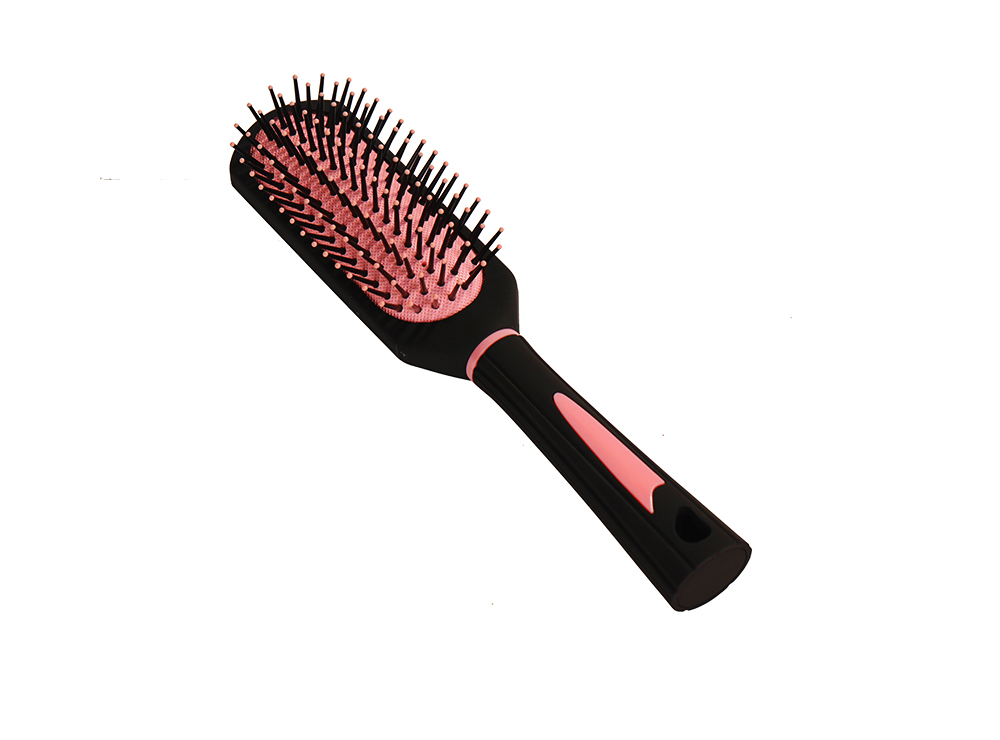 Air Pad Massage Comb Dull Polished Black Massage Comb Plastic Comb Square Hairdressing Massage Comb Hairdressing Tools 5