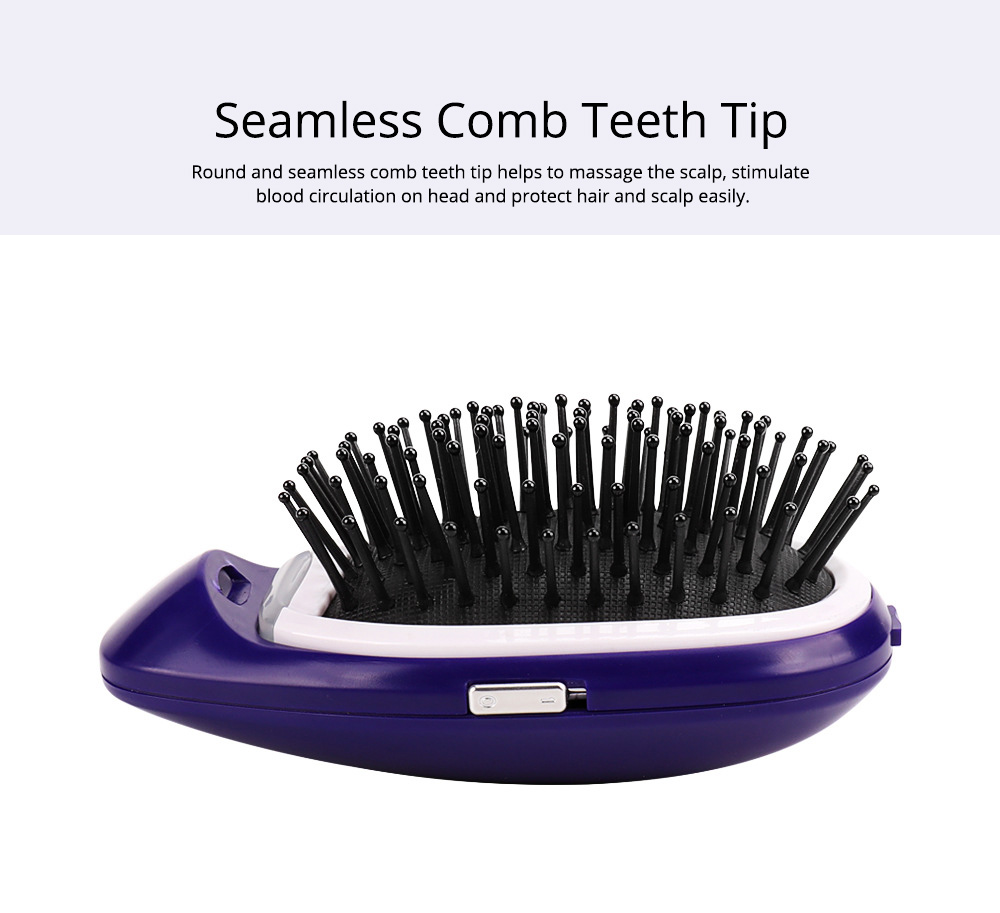 Anion Antistatic Comb for Straight and Curled Hair Combing Portable Message Comb Antistatic Comb Shaking Comb Hairdressing Tools 5