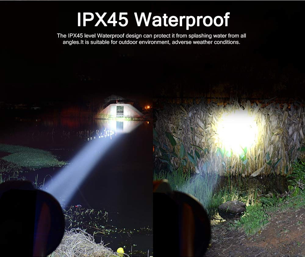 Plastic LED Large Portable Light Glare Long-range Lithium Battery Charging Outdoor Search Mining Lamp Emergency Flashlight 4