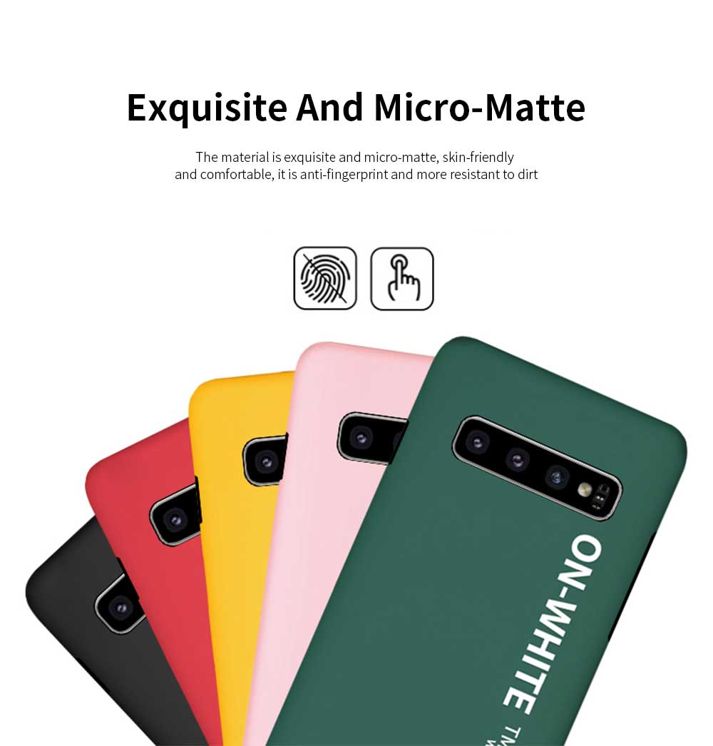 Mobile Phone Shell, Cover Case For Samsung S10, S10 plus Phone Case For Samsung Galaxy S10 Lite, Galaxy S10 + Hard Shell Protective Back Cover 2